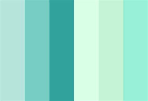 mint colors mint color palette