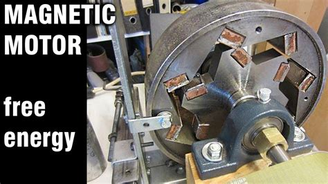 how to build a free energy magnetic motor the green free energy generator magnet motor youtube