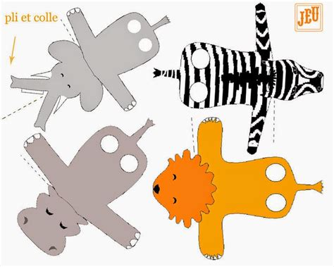 printable zoo animal finger puppets animal finger puppets free printables is it for