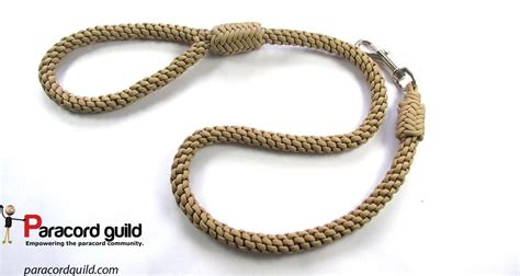 paracord leash crown knot paracord leash paracord guild