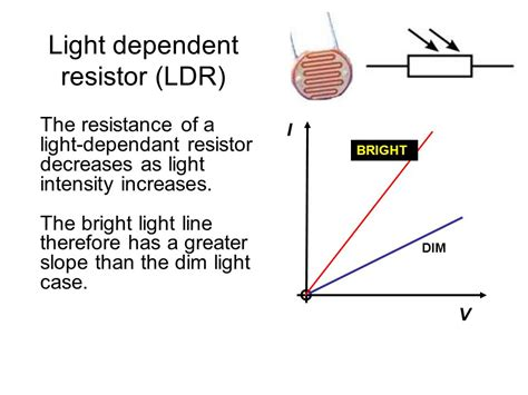 light dependent resistor what is it used for edexcel igcse certificate in physics 2 4 electrical resistance ppt