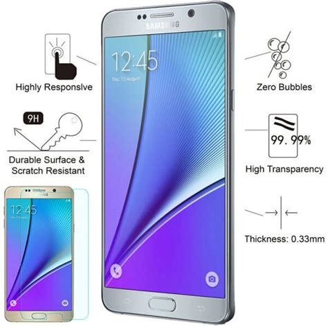 Tempered Glass Glitter Skin Samsung Galaxy Note 4 top selling 0 26mm 9h ᓂ 2 5d 2 5d edge tempered tempered glass for samsung galaxy