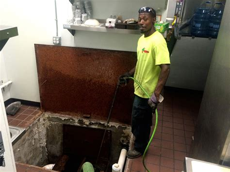 grease trap cleaner sanco environmental services grease