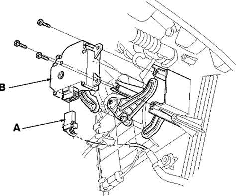 Evaporator Nissan Gnesis repair guides blend door actuator removal