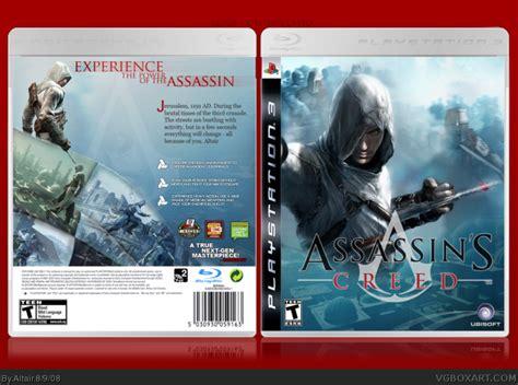 amazoncom assassins creed playstation 3 artist not assassin s creed playstation 3 box art cover by altair