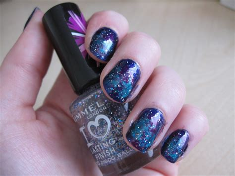 galaxy nail art tutorial easy simple and easy galaxy nail art tutorial youtube