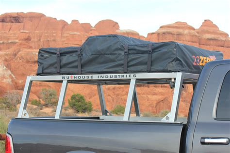 off road truck bed rack nutzo tech 1 series expedition truck bed rack nuthouse industries