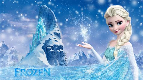 wallpaper frozen design elsa frozen wallpaper cartoon wallpapers 25377