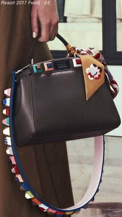 Hiltons Fendi Bag Purses Designer Handbags And Reviews by Fendi Resort 2017 Bag Collection Featuring Floral Bags