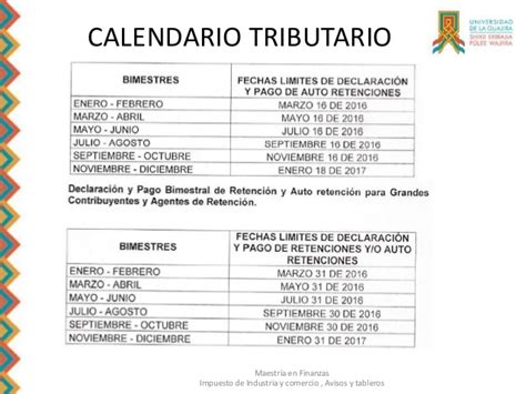 calendario retencion en la fuente 2016 colombia calendario tributario 2016 colombia retencion en la fuente