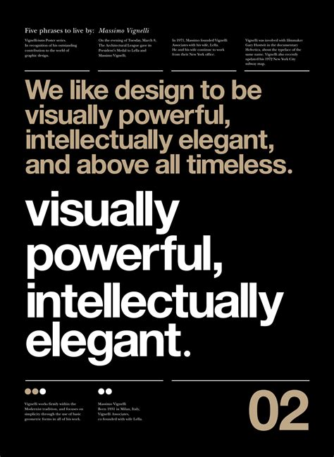 design is one massimo vignelli week 2 massimo vignelli the design blog of mark lappin