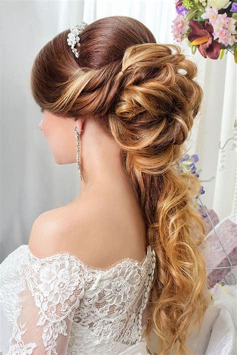 Hochzeitsfrisuren Lange Haare Gast by Elegante Halbe Hochsteckfrisur Mit Zopf Z 246 Pfe F 252 R Lange
