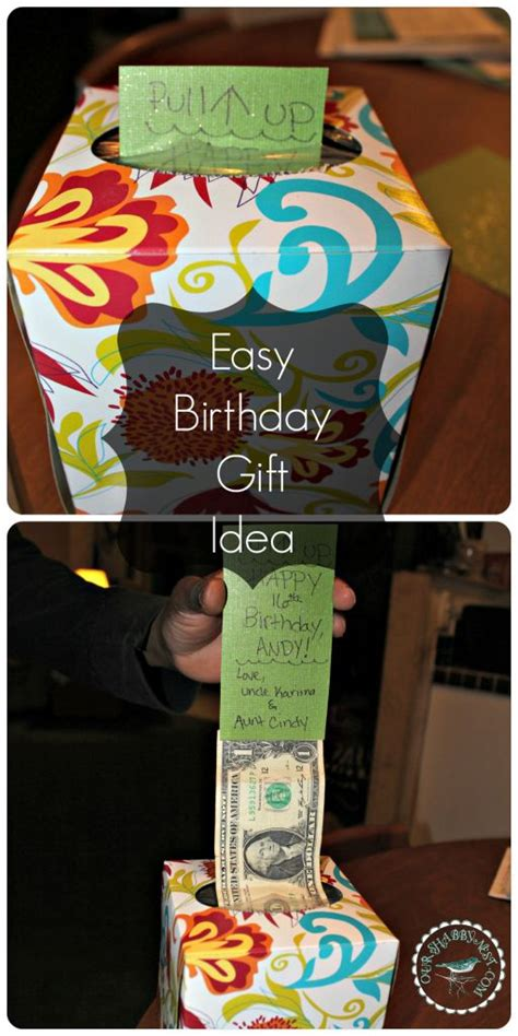 diy money gift idea gift ideas for men or boys teenage