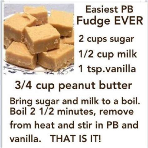 easiest peanut butter fudge ever recipe | sparkrecipes