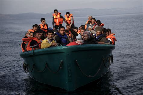 syrian refugees boat how isis smuggles terrorists among syrian refugees