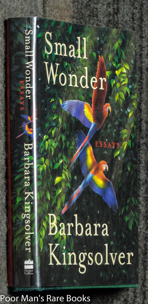 Barbara Kingsolver Essays by Discounted Out Of Print Obscure And Used Book Bookstore