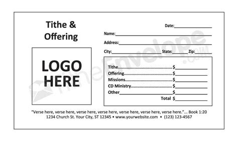 church offering envelopes templates offering envelopes template