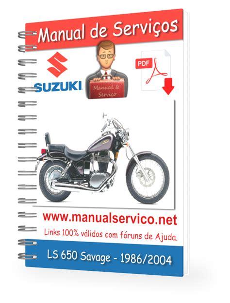 Suzuki Savage Manual Pdf Manual De Servi 231 Os Suzuki Ls 650 Savage 1986 2004