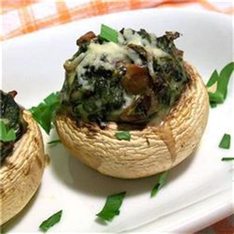 starter ideas for dinner spinach and bacon stuffed mushrooms recipe all recipes uk