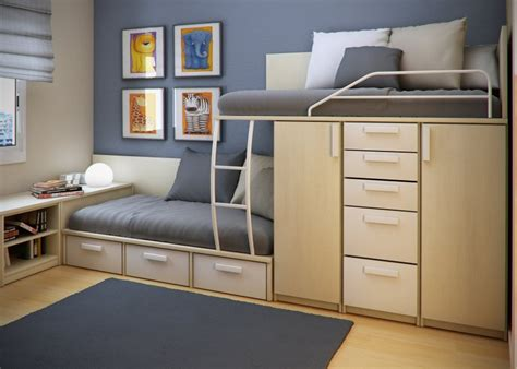 beds for small bedrooms 25 cool bed ideas for small rooms double loft beds