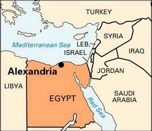 great world city map location alexandria location encyclopedia children s homework help dictionary