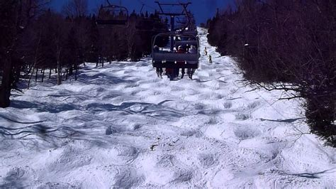 difficult trail expo  mont tremblant ski resort