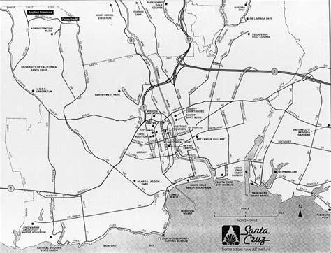 ucsc map santa