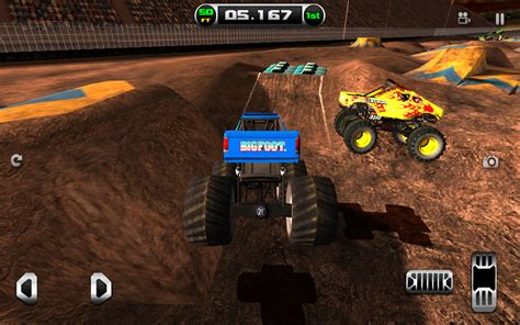 bigfoot monster truck game monster truck destruction android apps on google play