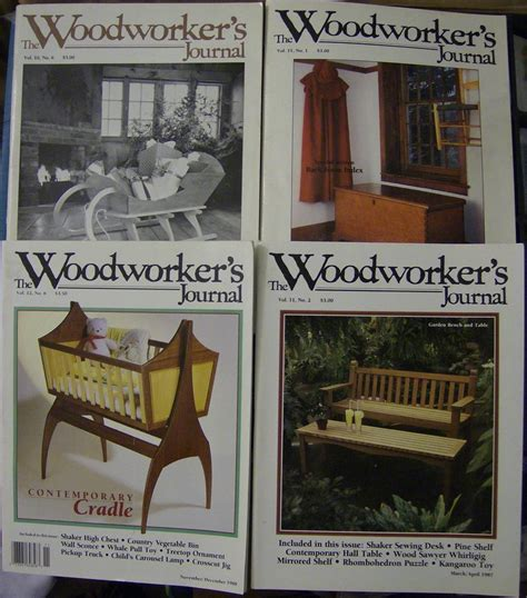 woodworkers journal wood crafts magazines