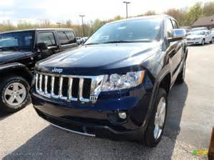2012 true blue pearl jeep grand overland 4x4