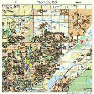 where is thornton colorado on a map thornton colorado map 0877290