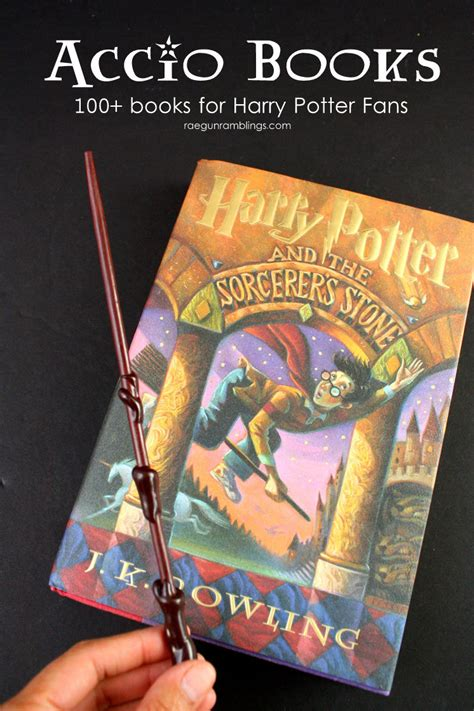 100 Books For Harry Potter Fans Gun Ramblings