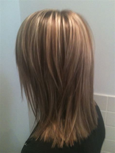 medium length hair style low lights how to straighten short hair low lights hair style and