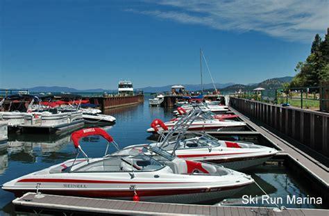tahoe marina boat rentals south lake tahoe marinas lake tahoe guide