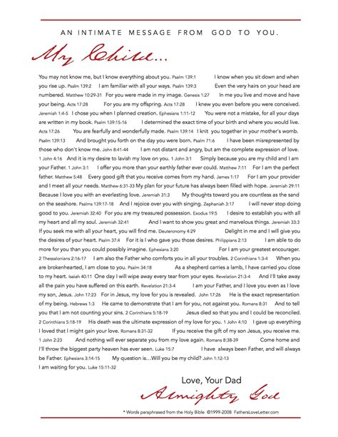 Letter Of God A Special Letter From God Blogs Istorya Net