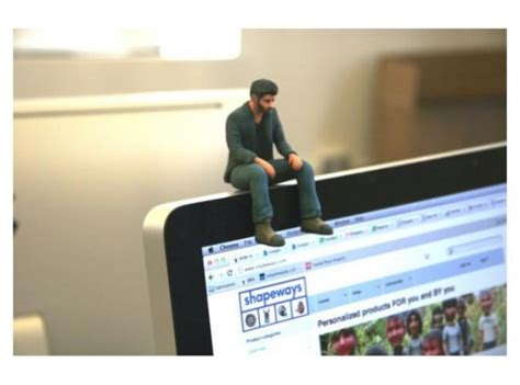 3d printed desk toys 3d printed sad keanu is anything but sad for the people