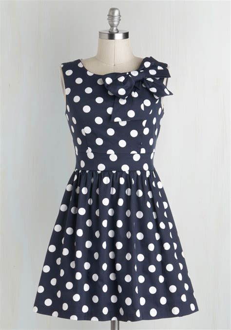 Dress Navy Polkadot best navy polka dot dress photos 2017 blue maize