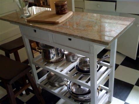 ikea kitchen cart hack 8 quick diy ikea f 214 rh 214 ja kitchen cart hacks shelterness