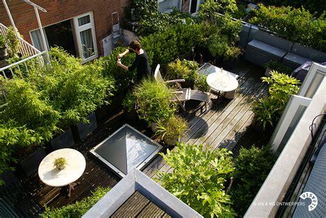terrasse en ville bacsac jardin urbain terrasse v 233 g 233 tale pays bas