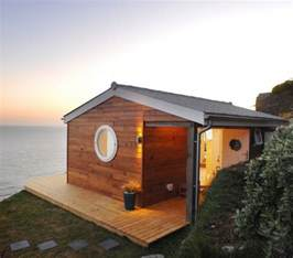 eco friendly tiny house offers reclaimed style and