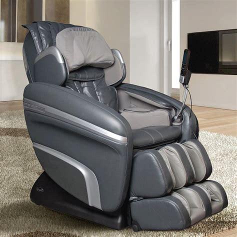 reclining leather massage chair titan osaki charcoal faux leather reclining massage chair