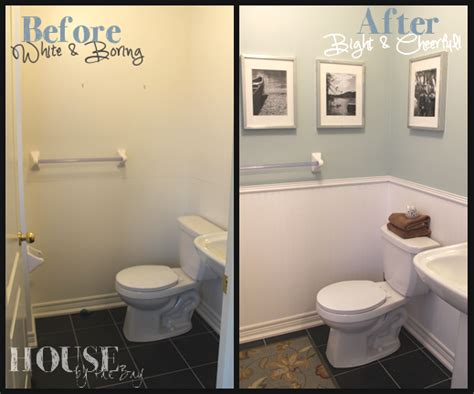 half bath makeover for the home small