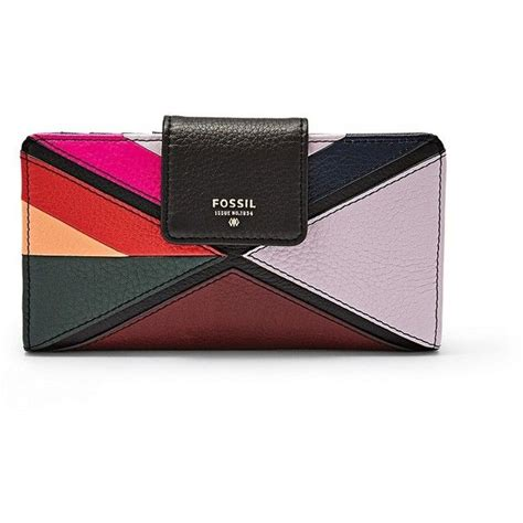 Fossil Dawson Patchwork Multi fossil sydney tab clutch sl6755998 color multi wallet