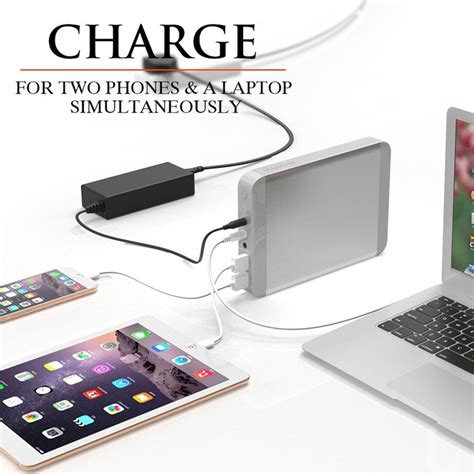 Power Bank Maxoak maxoak 36000mah portable power bank for laptop universal