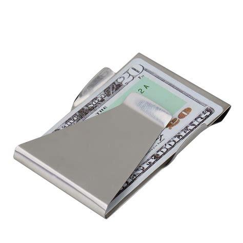 ultra money ultra slim sided money clip credit card holder