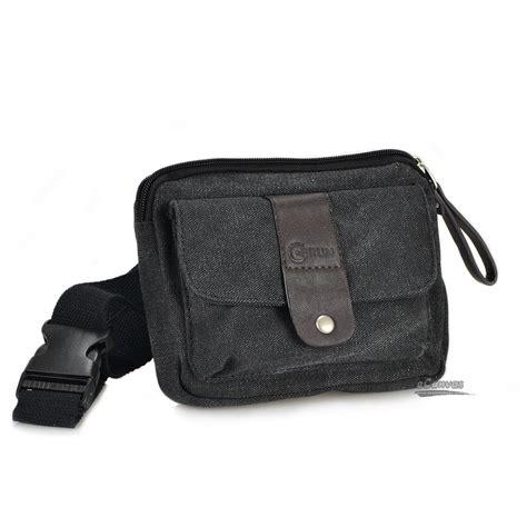 Weist Bag canvas mini pack mens waist bag coffee black e canvasbags