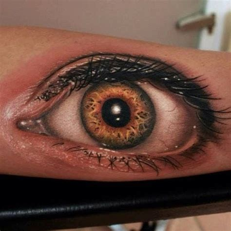 Tattoo 3d Eye | super realistic 3d eye tattoo on arm great tattoo s