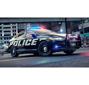 Fords Hybrid Cop Car May Be Slow But It Still Smokes The