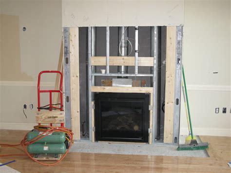 Installing A Fireplace by Installing A Fireplace Mantle
