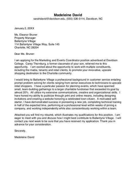 School Interest Letter Application Letter Sle Cover Letter Sle Of After School Program